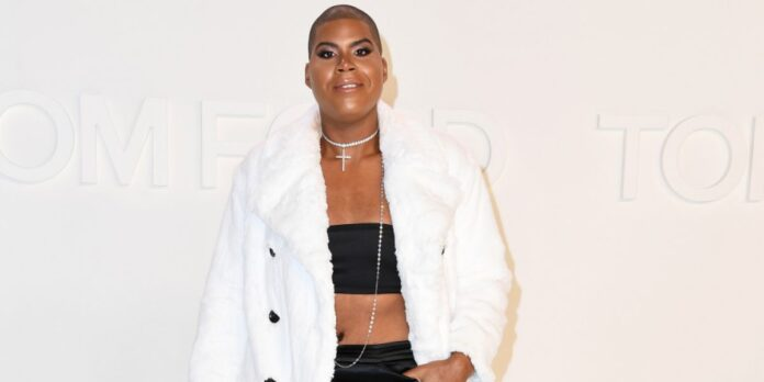 EJ Johnson Does A Store Run Donning A Sheer White Dress