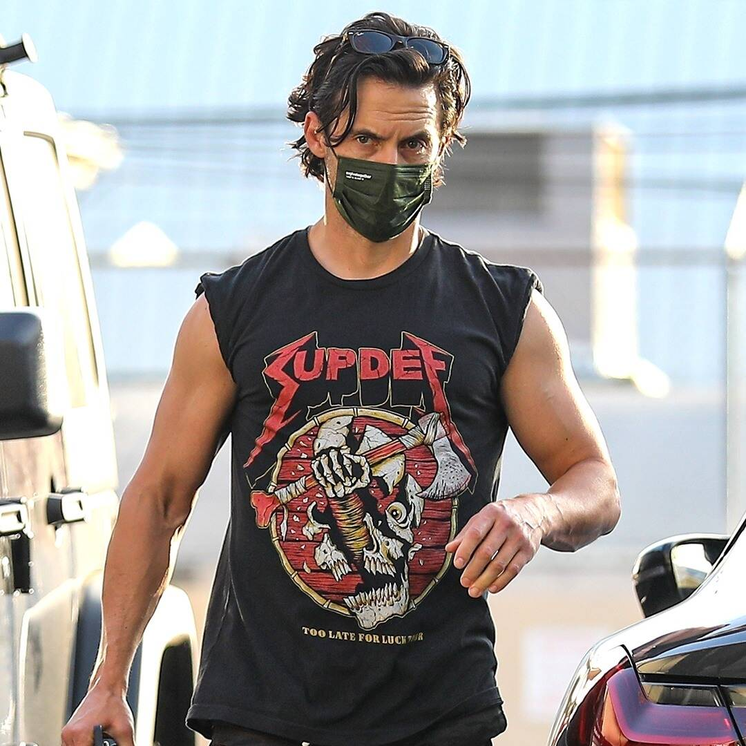 Milo Ventimiglia Defends His Gym Shorts After Those Viral Pics