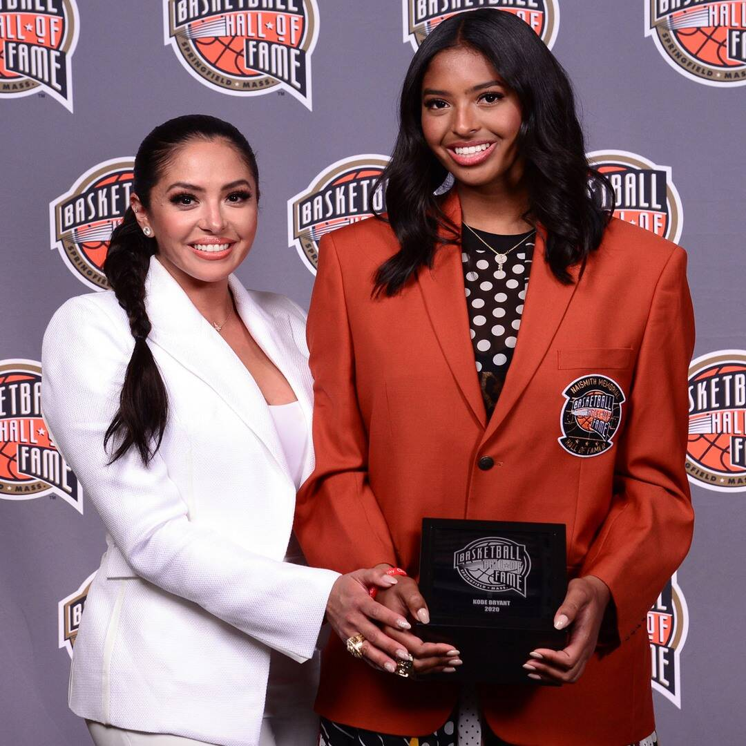 How Kobe Bryant's Daughter Honored Him Before Hall of Fame Induction