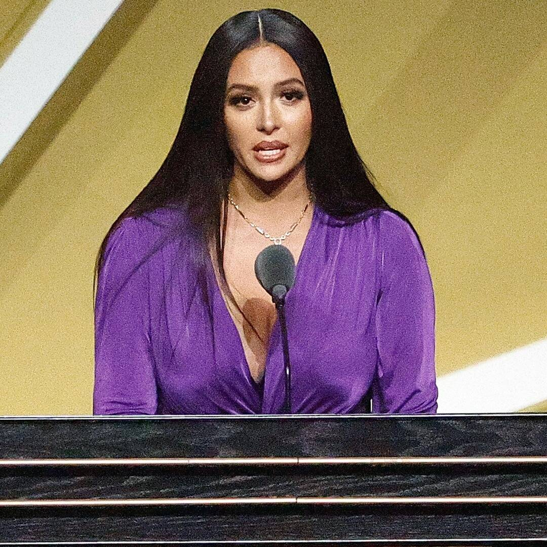 Vanessa Bryant Delivers Speech in Honor of Late Husband Kobe Bryant