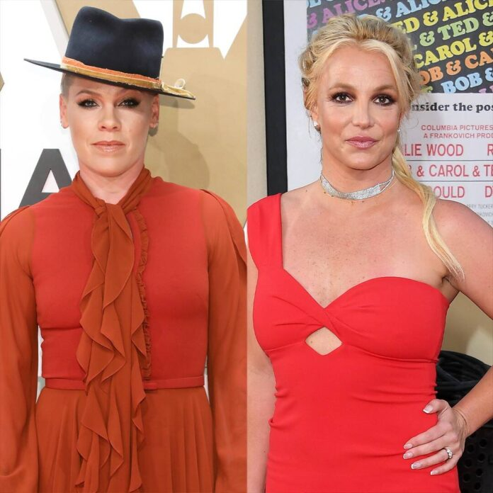 Pink Shares Regret About Her Relationship With Britney Spears