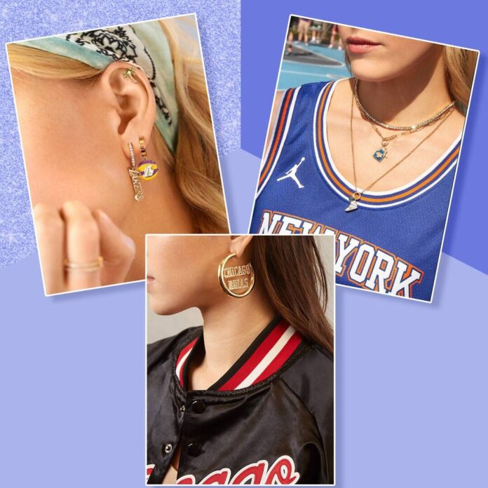 Take Your Team Pride to the Next Level with BaubleBar's NBA Jewelry