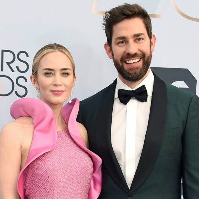 Emily Blunt Dropped This Hint to John Krasinski After He Gained Weight