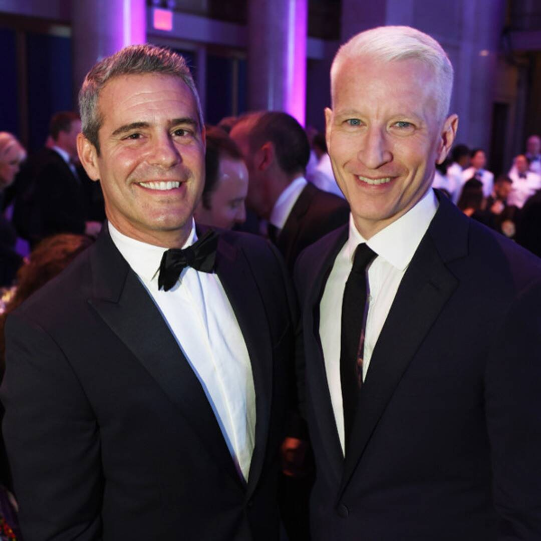 """See Andy Cohen & """"Daddy"""" Anderson Cooper Celebrate Twin Birthdays"""