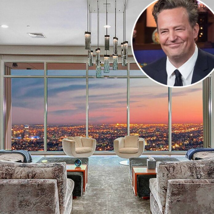 Go Inside Matthew Perry's Newly Sold $21 Million Los Angeles Penthouse