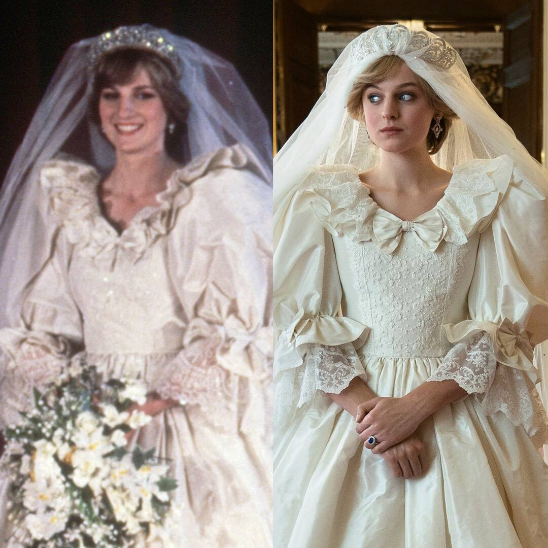 How The Crown Recreated Princess Diana's Iconic Fashion