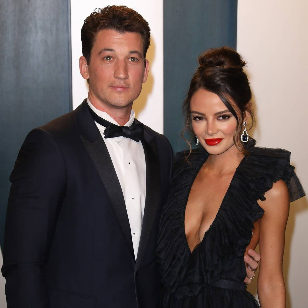 """Miles Teller Says Wife Keleigh Is """"Woman of My Dreams"""" on Anniversary"""