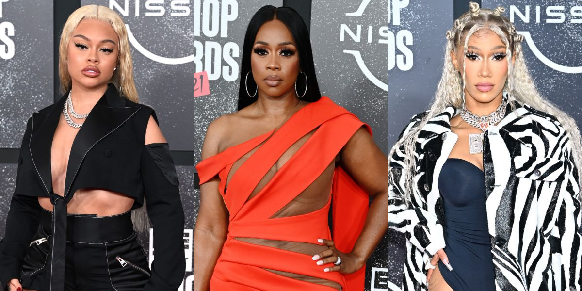 Sexiest Red Carpet Looks At The 2021 BET Hip Hop Awards!