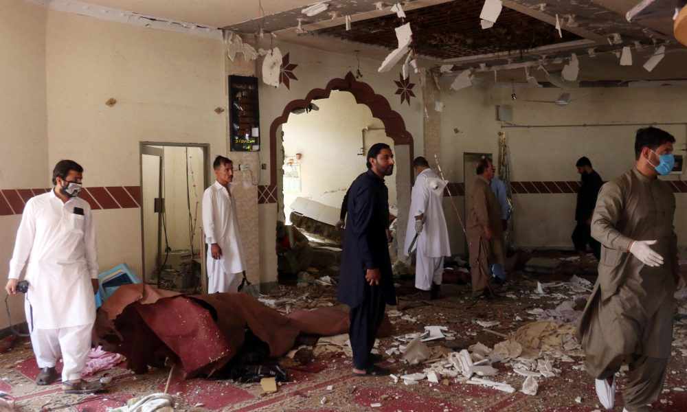 Bomb Blast in Mosque During Friday Prayers, at least 50 Killed