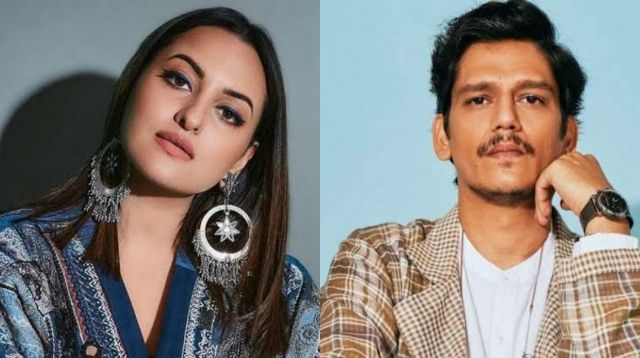 Fallen co-stars, Sonakshi Sinha and Vijay Varma share a fun banter on the latter's photoshoot pictures, see below!