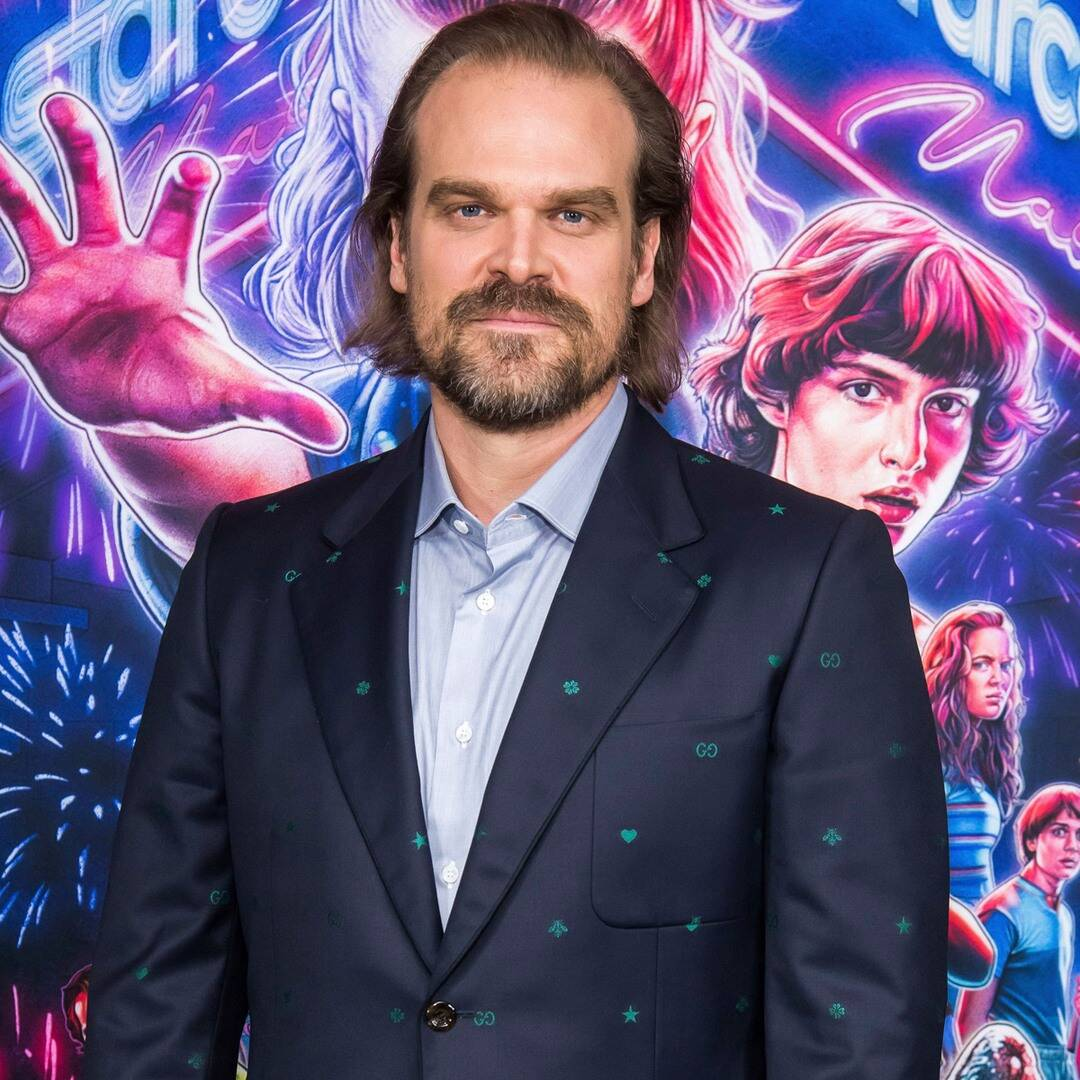 David Harbour's New Comb-Over Is Guaranteed to Make Your Jaw Drop